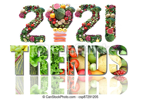 2021 food and health trends - csp87291205