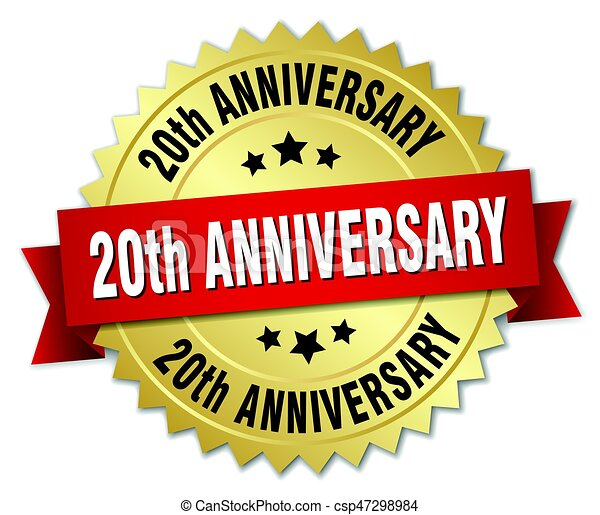 20th Anniversary Clipart And Stock Illustrations 1 897 20th Anniversary Vector Eps Illustrations And Drawings Available To Search From Thousands Of Royalty Free Clip Art Graphic Designers