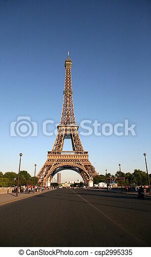 22, poder, señales, -, parís, uno, francia, france., 22:, capital, 2009 - csp2995335