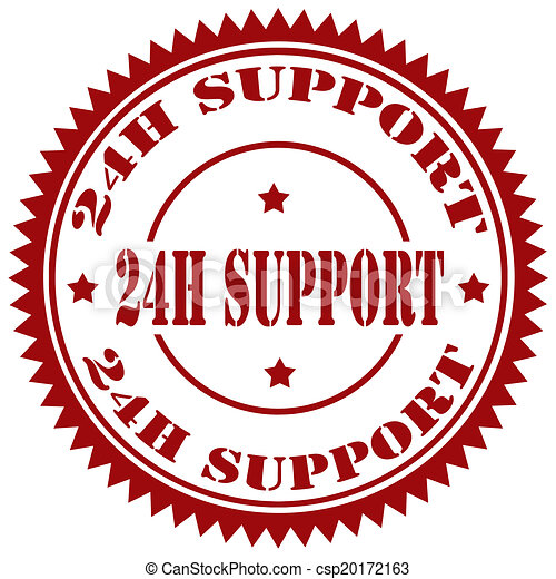 24 H Support-stamp - csp20172163