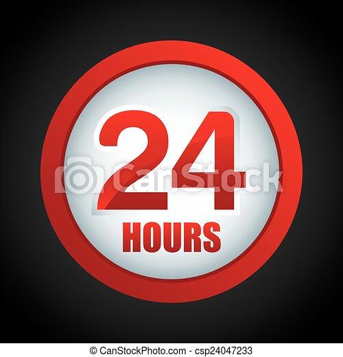 24 horas - csp24047233