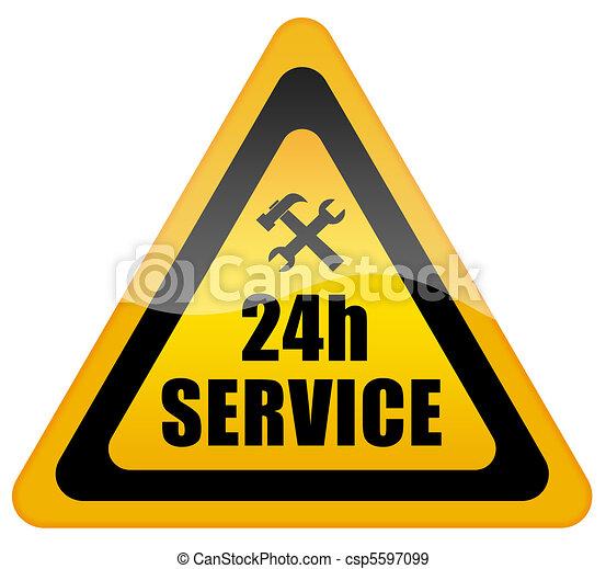 24 hour service - csp5597099