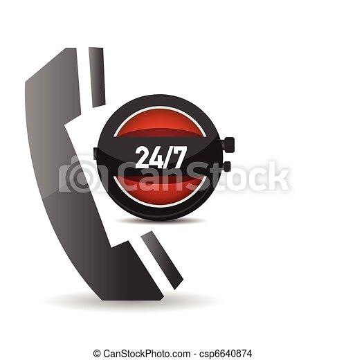 24 hour service - csp6640874