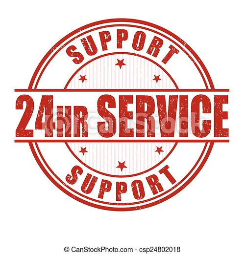24 hour service stamp - csp24802018