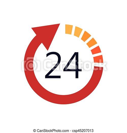 24 hours service - csp45207013
