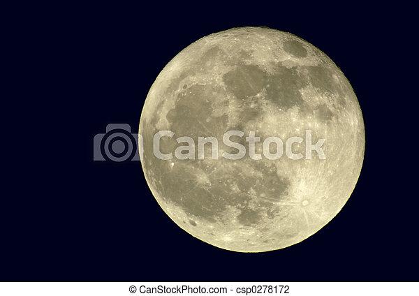 2400mm True Full Moon - csp0278172