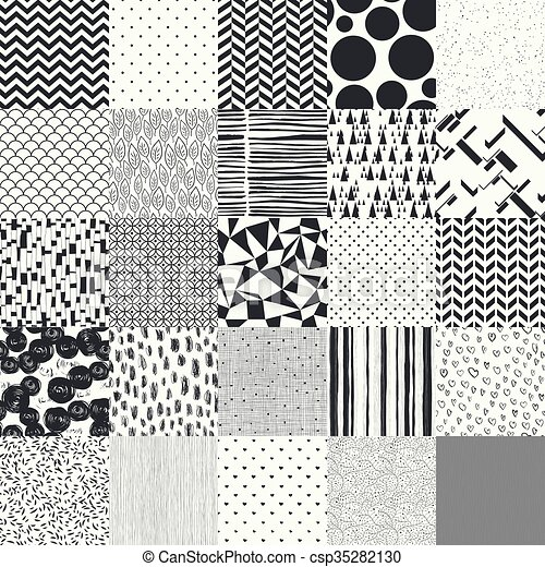 40 Seamless Different Vector Patterns Impressive Different Patterns