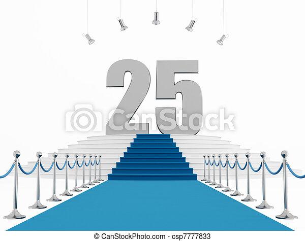 25 year anniversary - csp7777833