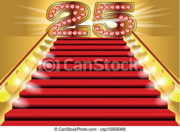 25 years - csp15956068