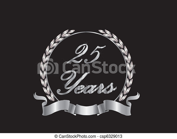 25 Years - csp6329013