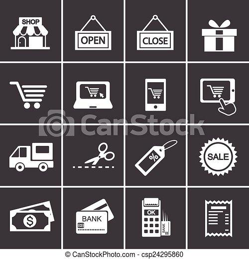 274-2, achats, icône - csp24295860