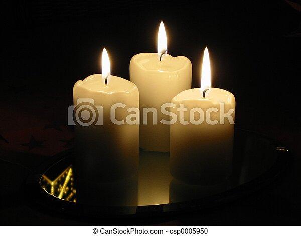 3 candles - csp0005950