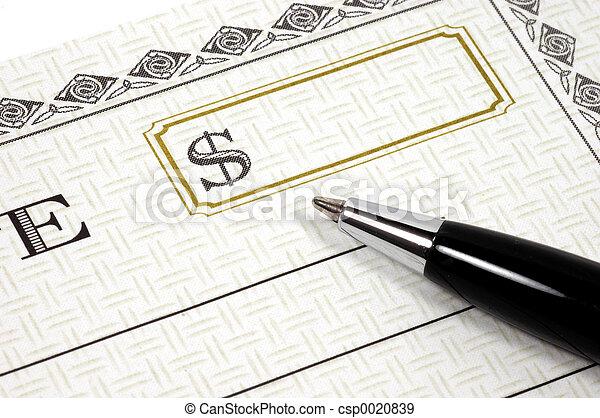 3, chèque - csp0020839