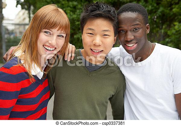 3 cultures together - csp0337381