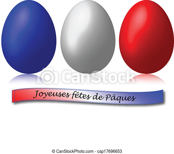 3 easter eggs blue red white csp17696653 - Easter Egg Images 3