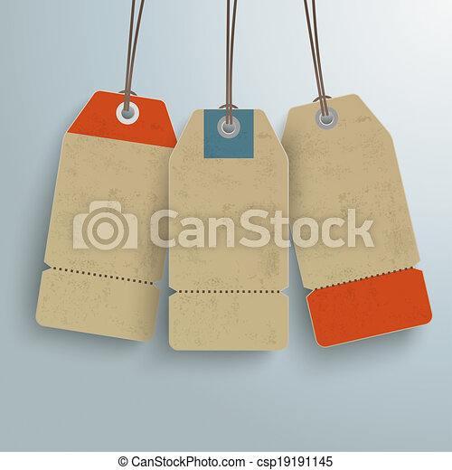 3, fond, argent, coût, vendange, autocollant - csp19191145