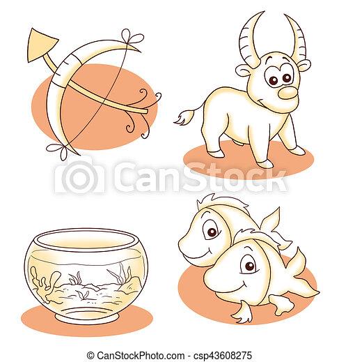 3, horoscope - csp43608275