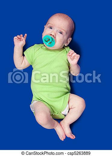 3 months baby - csp5263889