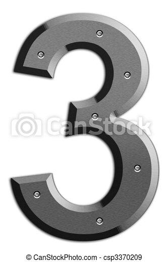 3, nombre - csp3370209