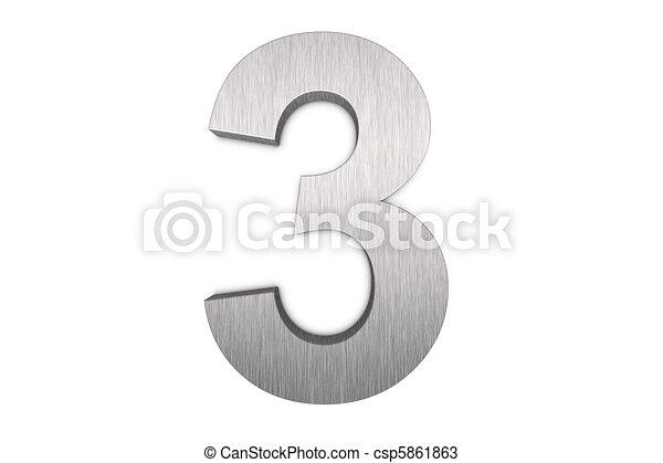 3, nombre - csp5861863