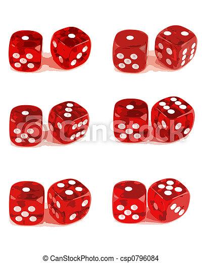 3), numeri, dado, 2, -, esposizione, (1, tutto - csp0796084