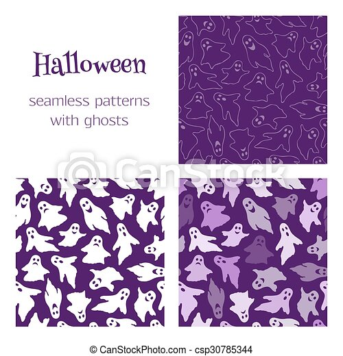 3 patterns with ghosts - csp30785344