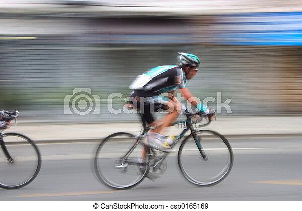 #3, versenyfutó, bicikli - csp0165169