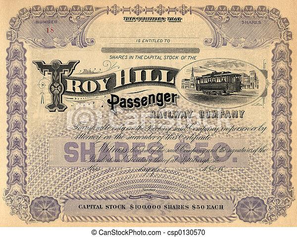 3, vieux, certificat, stockage - csp0130570