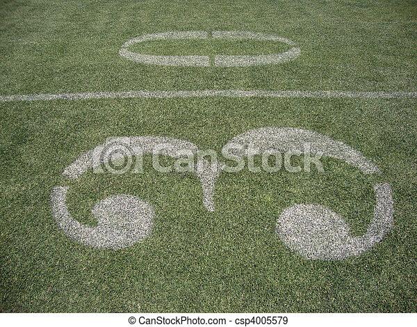 30 yard line - csp4005579
