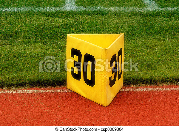 30 Yard marker - csp0009304