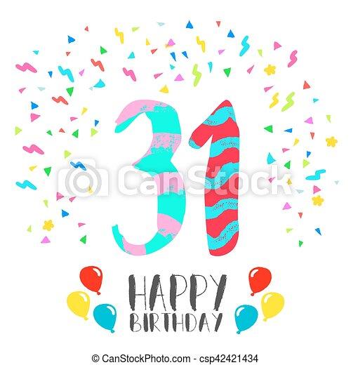 31 invitation anniversaire anne fte carte heureux eps10 31 31 invitation anniversaire anne fte carte heureux csp42421434 stopboris Images