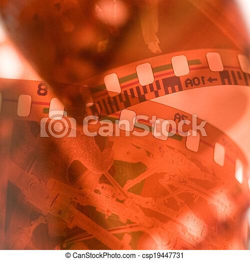 35 mm film - csp19447731