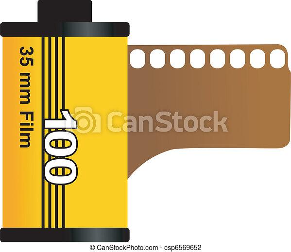35mm film - csp6569652