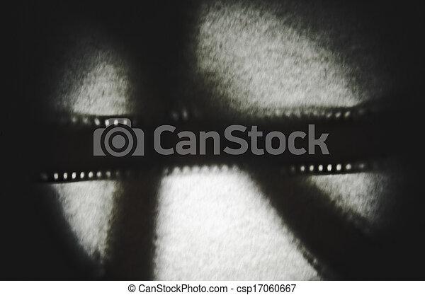 35mm film shadow - csp17060667