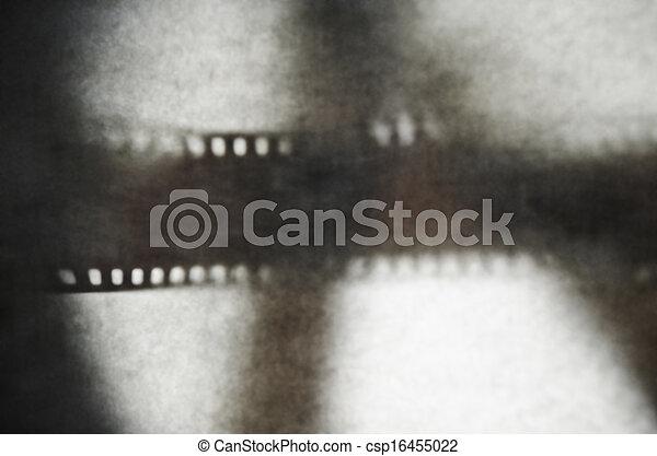 35mm film Shadow - csp16455022
