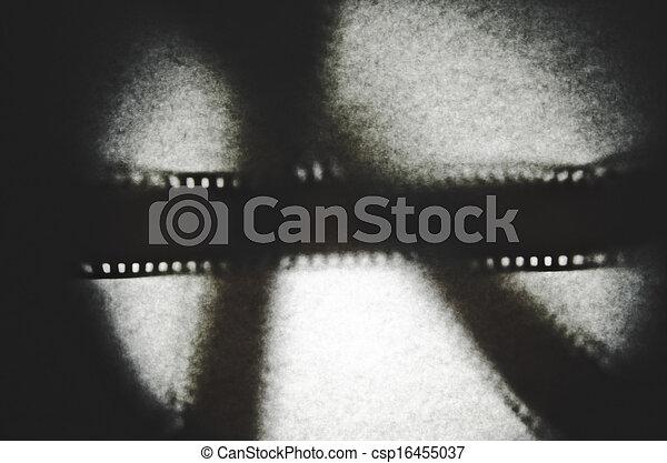 35mm film Shadow - csp16455037