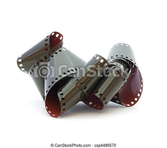 35mm negative film - csp4486570