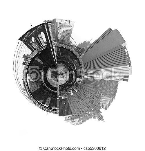 360 Degree Panoramic NYC - csp5300612