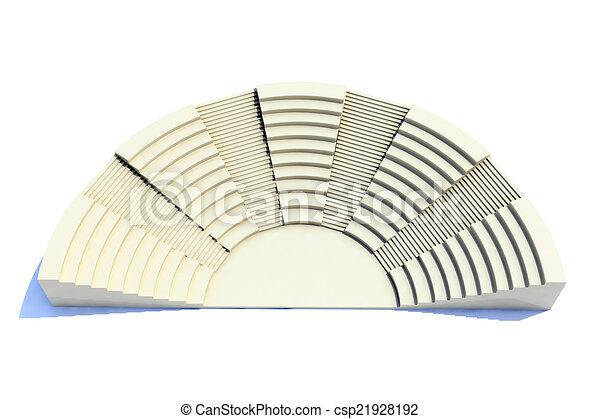 3d amphitheater - csp21928192