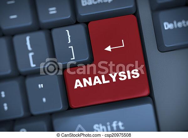 3d analysis keyboard concept - csp20975508