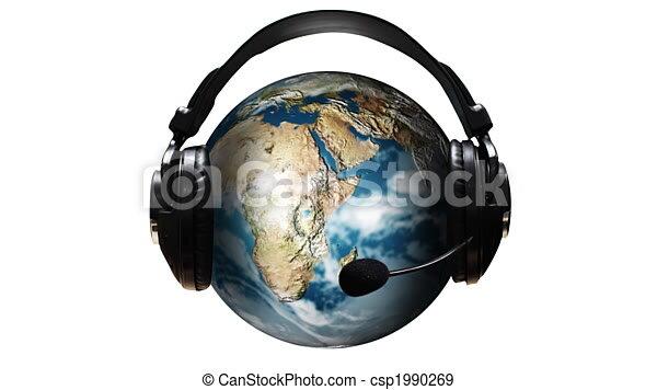 3d Animation of World Music