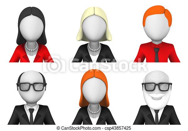 3d avatar icon set 3d avatars for user profiles