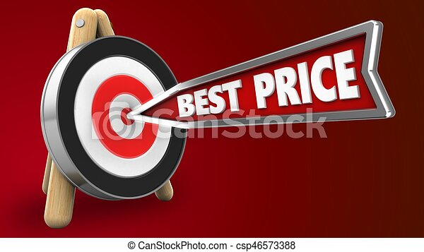 3d best price arrow - csp46573388