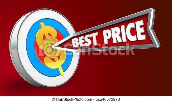 3d best price arrow - csp46572970