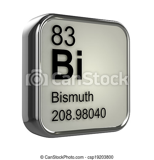 3d Bismuth element - csp19203800