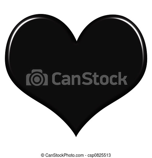 black heart illustrations and stock art 71 894 black heart rh canstockphoto com black heart outline clipart little black heart clipart
