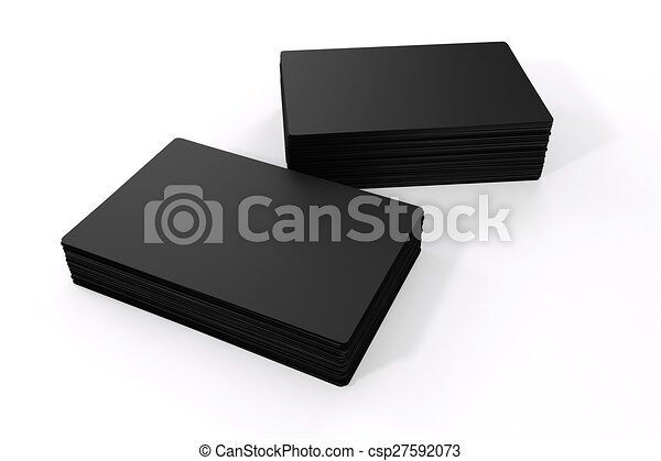 3d blank black business cards 3d blank black business cards csp27592073 colourmoves