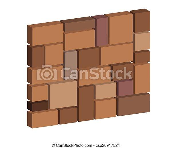 3d Brick Stone Wall