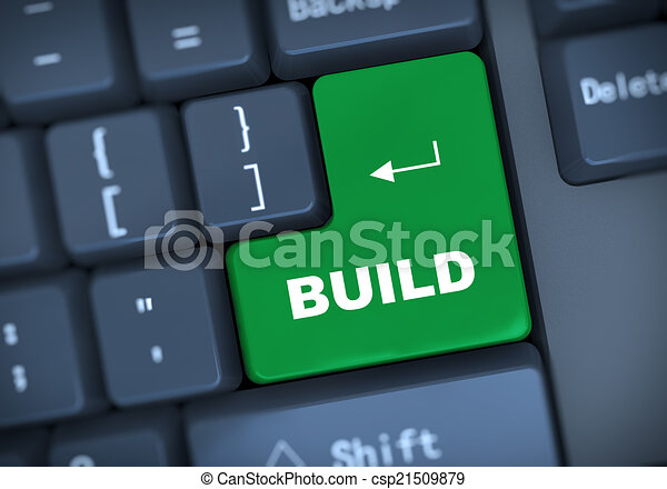 3d build keyboard concept - csp21509879