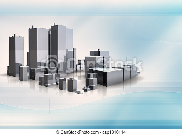 3d building - csp1010114
